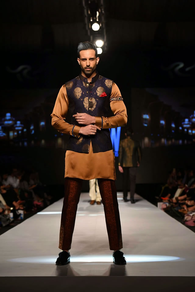 Designer Amir Adnan TFPW collection 2015