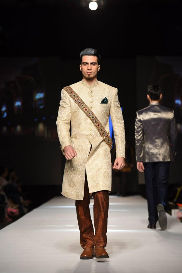 Designer Amir Adnan 2015 TFPW collection Picture Gallery