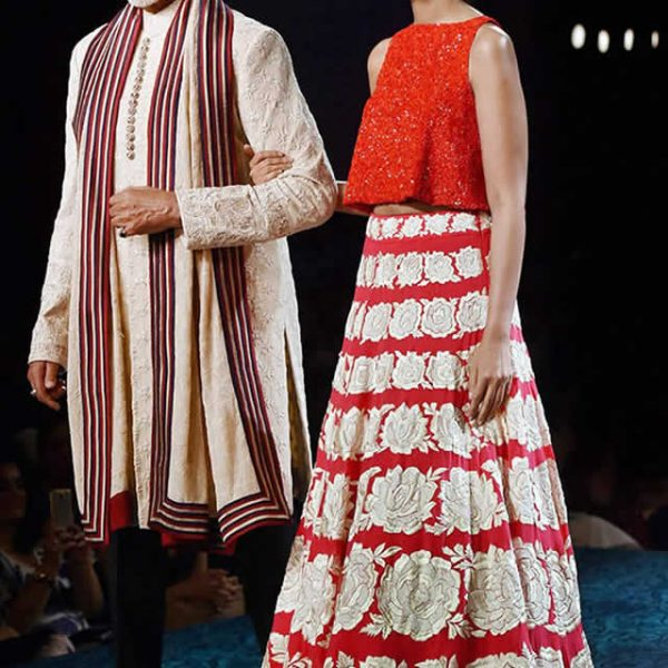 Indian Designer Manish Malhotra Presents Mijwan Collection 2015