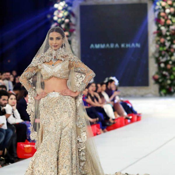 Ammara Khan Dresses at PFDC L'Oréal Paris Bridal Week 2015
