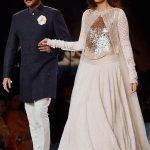 Anil Kapoor and Sonam Manish Malhotra 2015 Mijwan collection