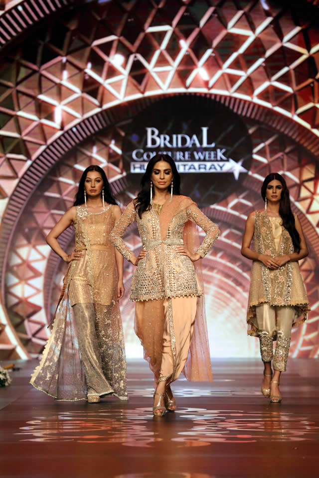 Asifa & Nabeel Collection Bridal Couture Week 2016 Pics