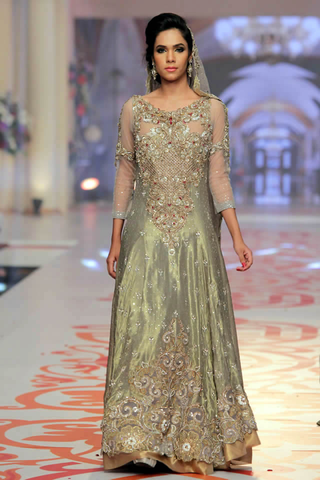 bac9b5418426 2015 Telenor Bridal Couture Week Asifa & Nabeel Summer Dresses Picture  Gallery