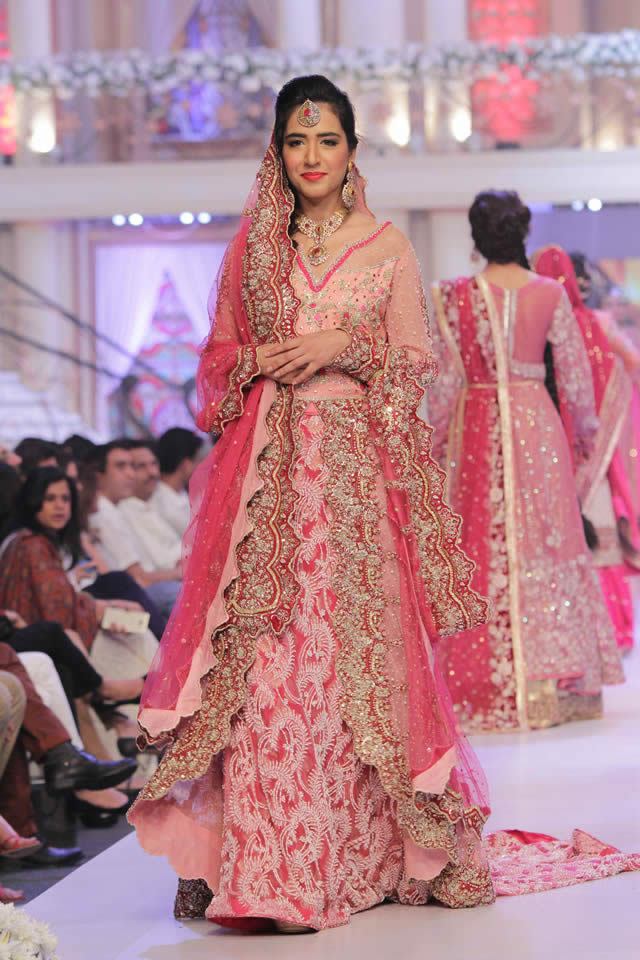 Telenor Bridal Couture Week 2015 Ayesha Ibrahim Dresses Collection Photo Gallery