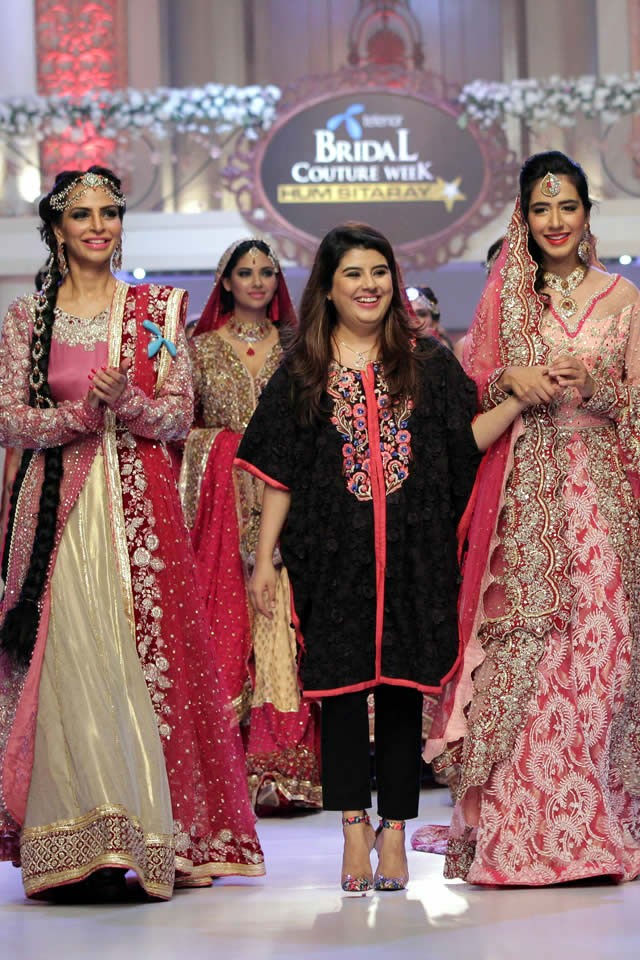 2015 Telenor Bridal Couture Week Ayesha Ibrahim Wedding Colleciton