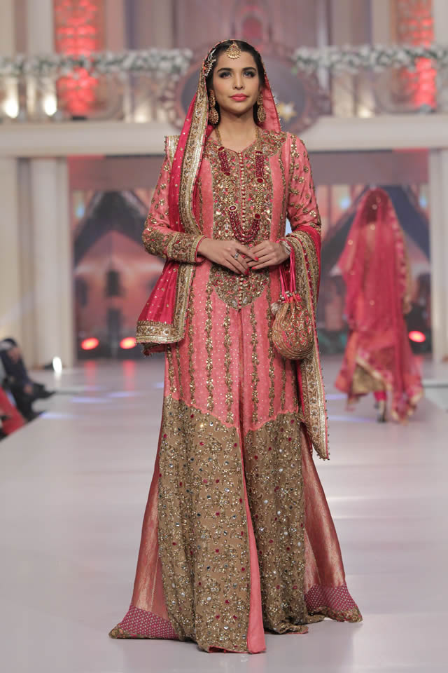 2015 Telenor Bridal Couture Week Ayesha Ibrahim Collection Photo Gallery