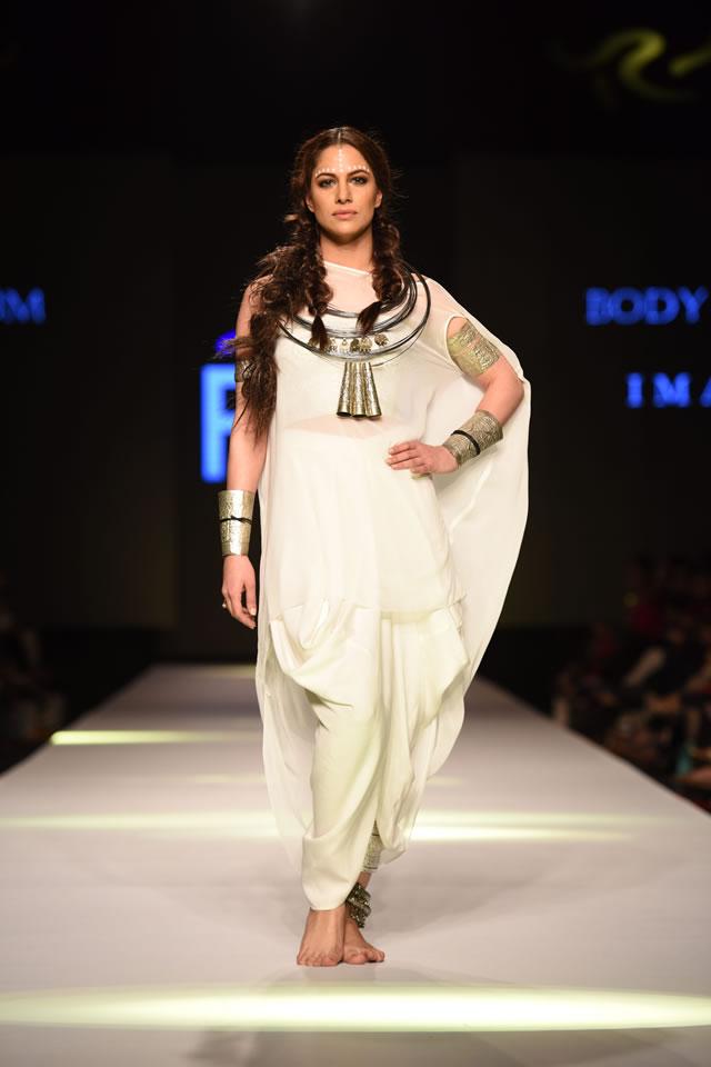 Body Focus Telenor Fashion Pakistan Week collection 2015 Dresses