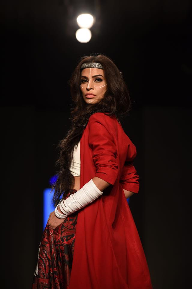 2015 Telenor Fashion Pakistan Week Body Focus Dresses Gallery