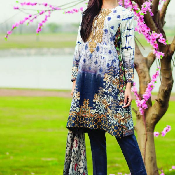 Cross Stitch Spring Summer Lawn Collection 2015