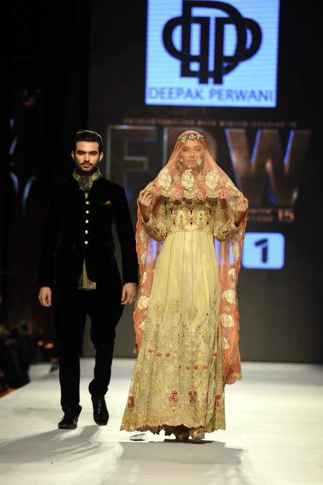 2015 FPW Deepak Perwani Bridal Collection Pictures