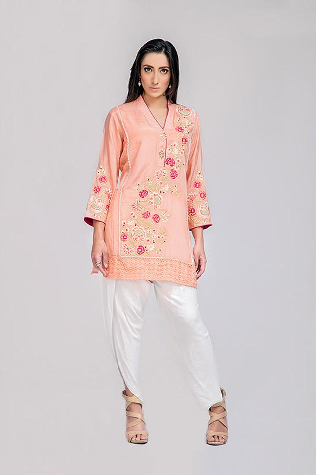 Deepak Perwani Summer Eid Dresses collection 2016 Photos