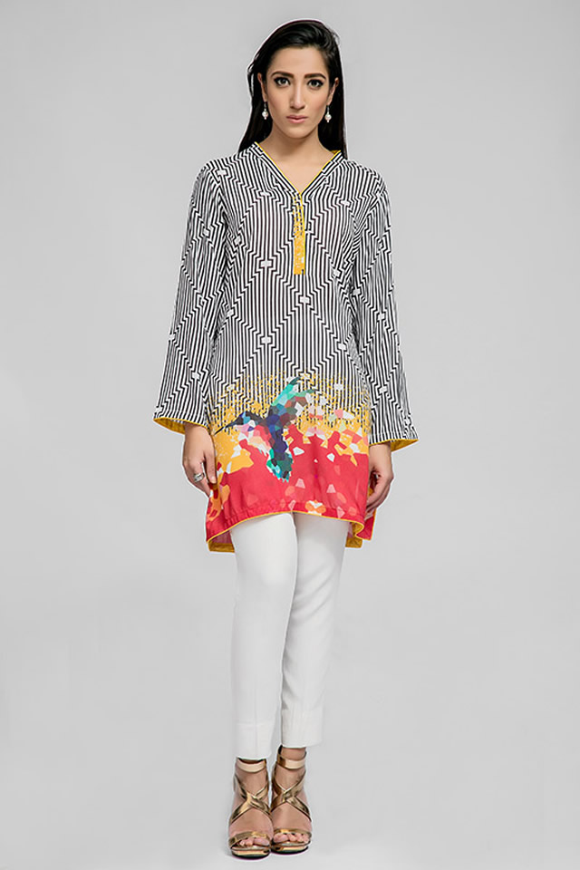 2016 Deepak Perwani Summer Eid Dresses collection