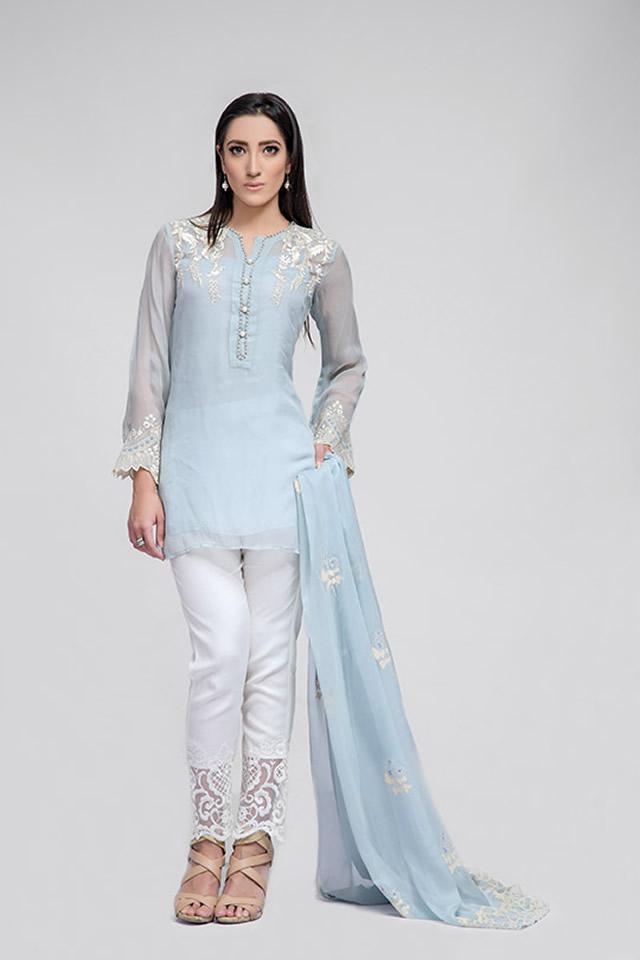 Deepak Perwani Summer Eid Dresses collection 2016 Pics