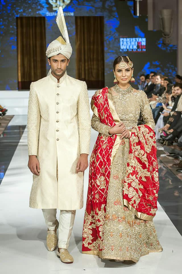 2016 FPW Deepak Perwani Bridal Dresses Pics