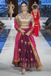 Deepak Perwani Dresses at PFW London 2016