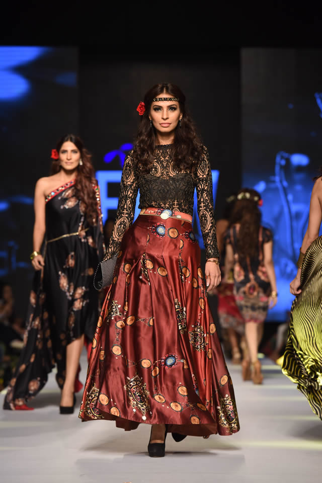 2015 Telenor Fashion Pakistan Week Deepak Perwani Dresses
