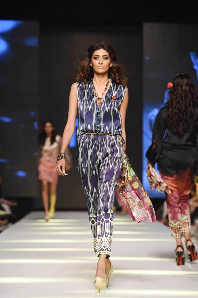 Fashion Designer Deepak Perwani Telenor Fashion Pakistan Week Dresses