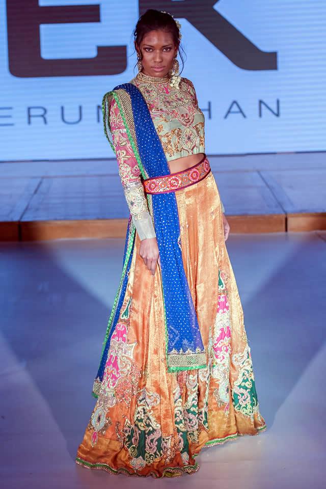 Fashion Designer Erum Khan Dresses Pakistan Fashion Week 8 London 2015 Fashion Central