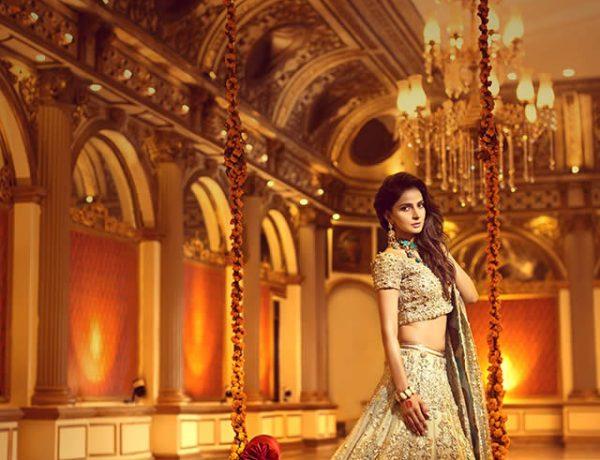 Erum Khan Nawabzadi Bridal Couture Featuring Saba Qamar