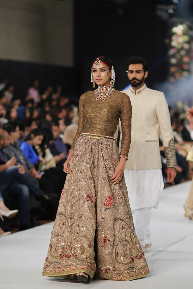 PFDC Loreal Paris Bridal Week 2015 Fahad Hussayn Dresses Collection Photo Gallery