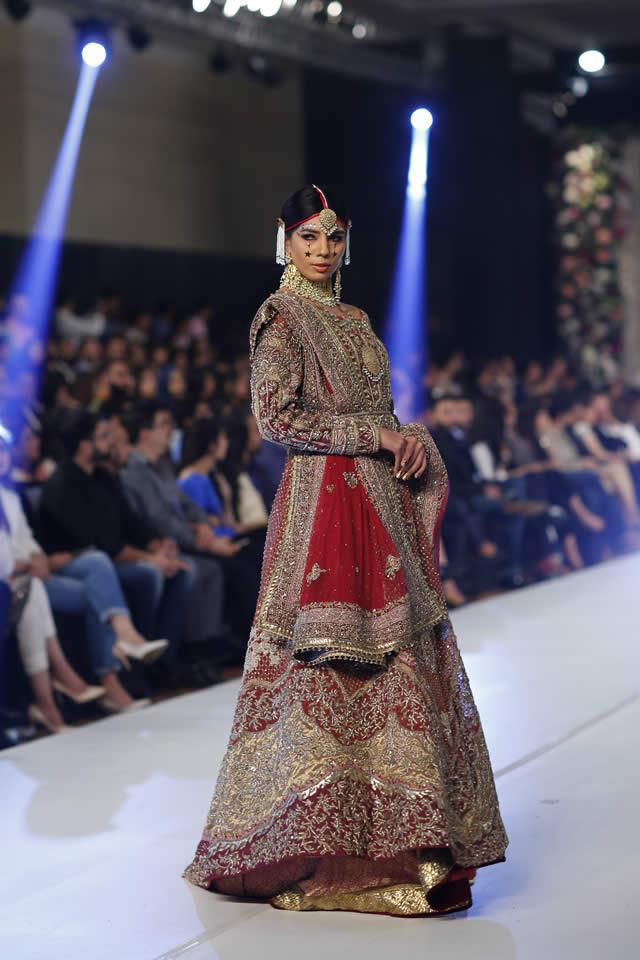 2015 PFDC Loreal Paris Bridal Week Fahad Hussayn Dresses Collection Photos