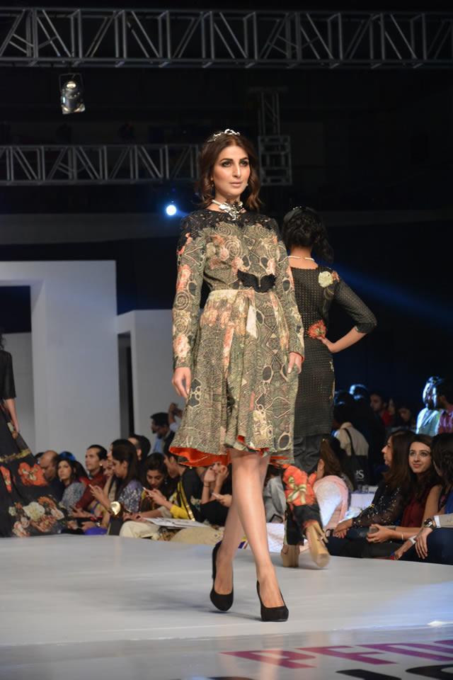 Fahad Hussayn Dresses collection PFDC Sunsilk Fashion Week