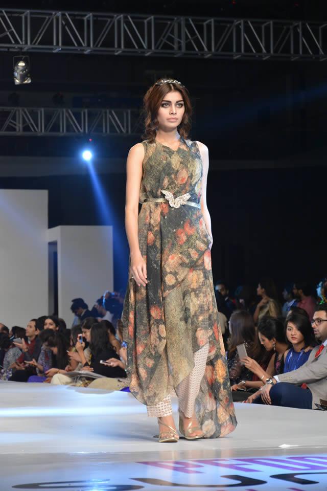 2015 PFDC Sunsilk Fashion Week Fahad Hussayn Dresses