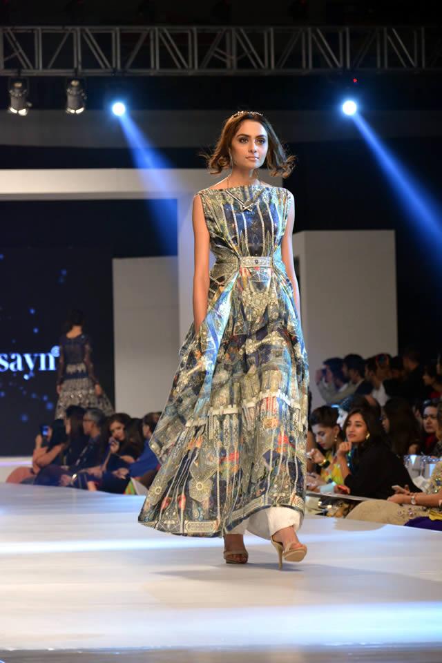 2015 PFDC Sunsilk Fashion Week Fahad Hussayn Collection