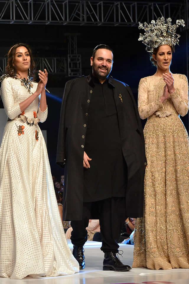 Fahad Hussayn Latest Dresses 2015