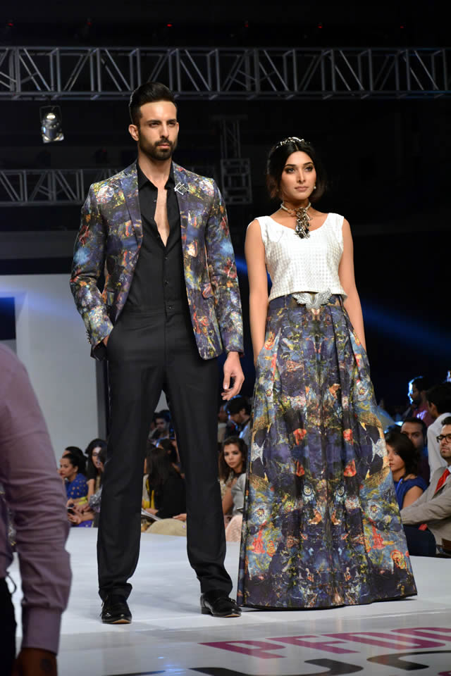 Fahad Hussayn PFDC Sunsilk Fashion Week collection 2015 Images