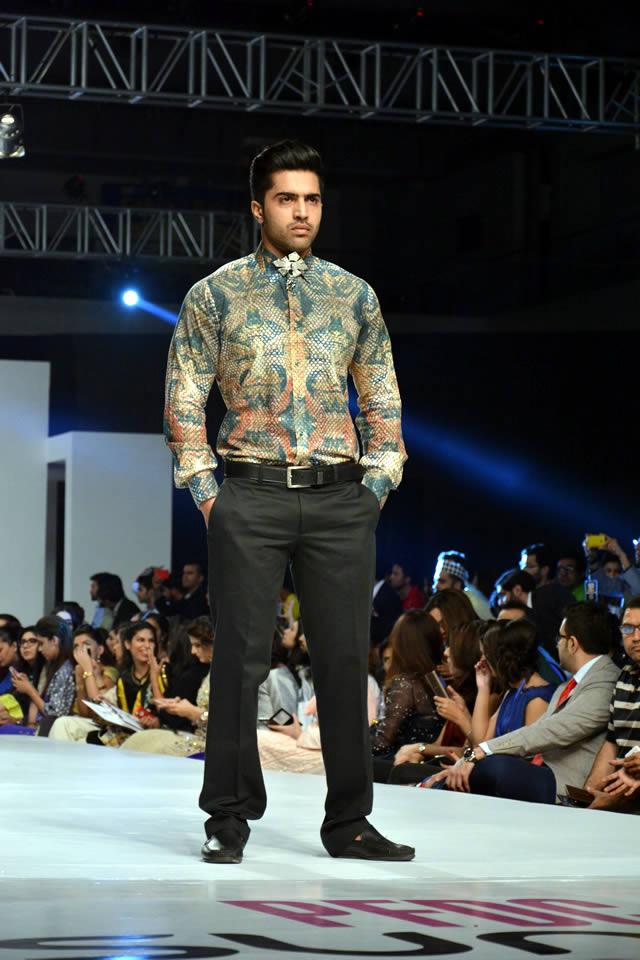 Fahad Hussayn PFDC Sunsilk Fashion Week collection 2015 Outfits