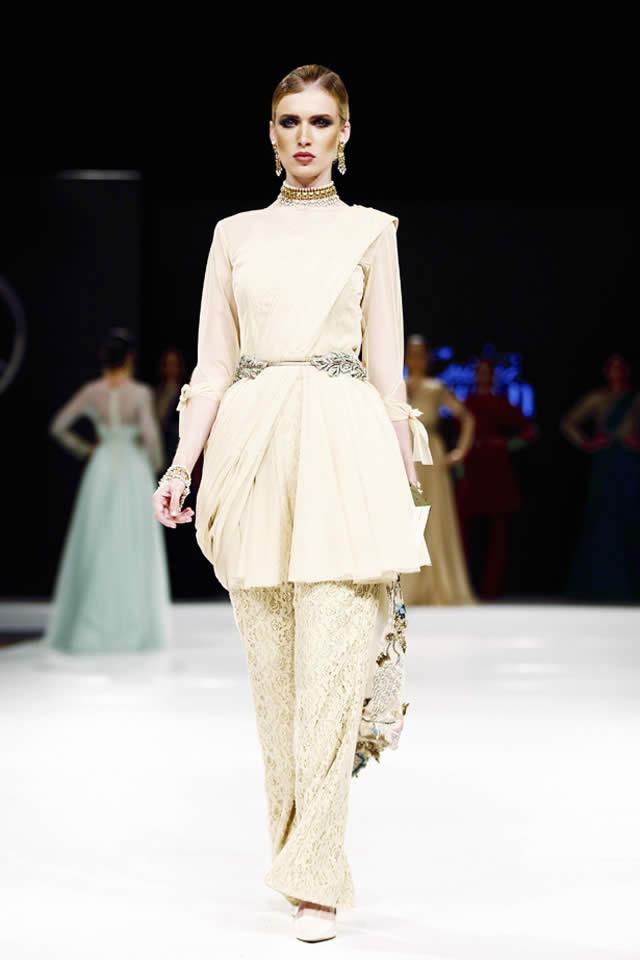 2016 Fahad Hussayn Dresses Pics
