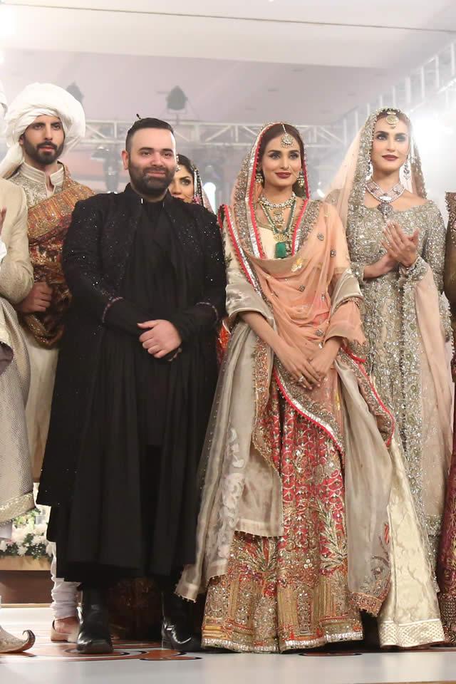 2015 TBCW Fahad Hussayn Bridal Dresses Pics