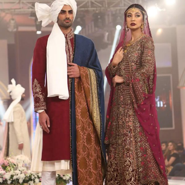 Fahad Hussayn Couture Collection at TBCW 2015