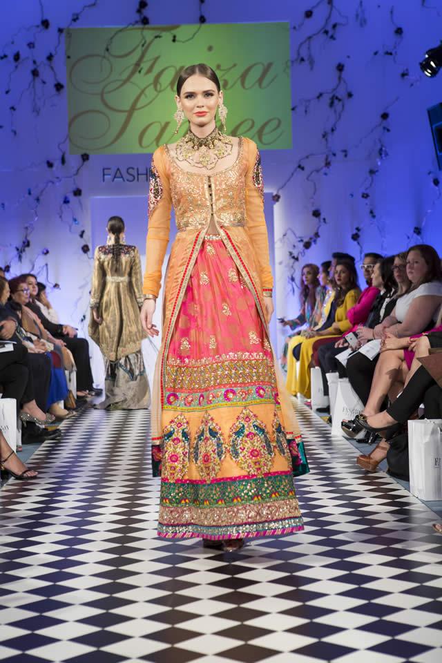 Faiza Samee Collection Fashion Parade London 2016 Pics