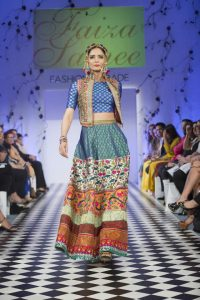 Faiza Samee Dresses at Fashion Parade London 2016