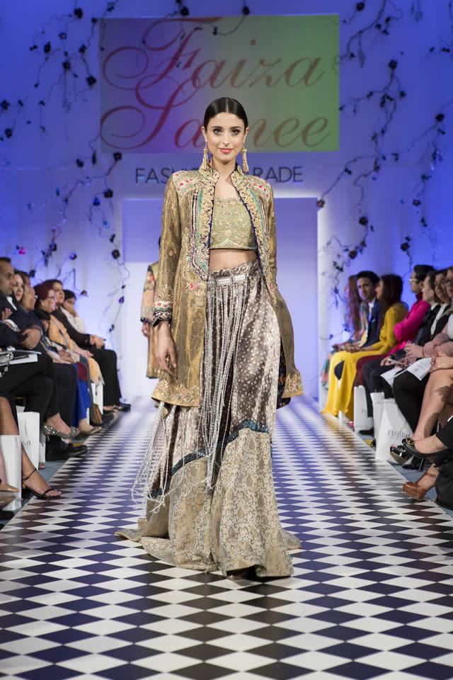 Faiza Samee Dresses Fashion Parade London 2016 Images
