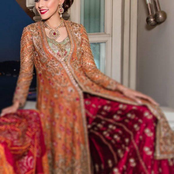 Farah Talib Aziz Latest Bridal Collection 2016