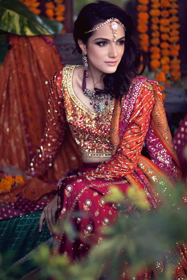 2015 Farah Talib Aziz Spring Summer Bridal Collection