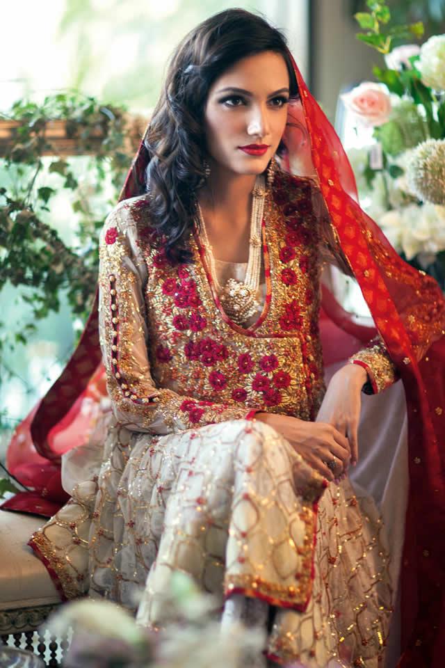 Farah Talib Aziz Bridal Spring Summer 2015 Collection