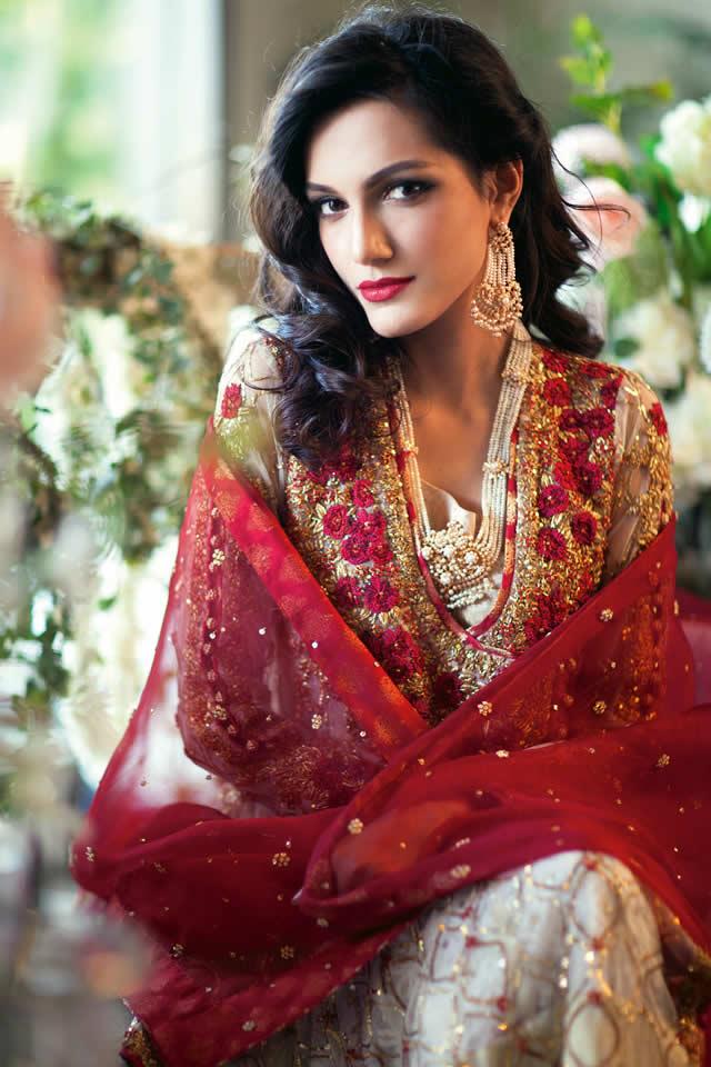 Spring Summer Farah Talib Aziz 2015 Bridal Collection