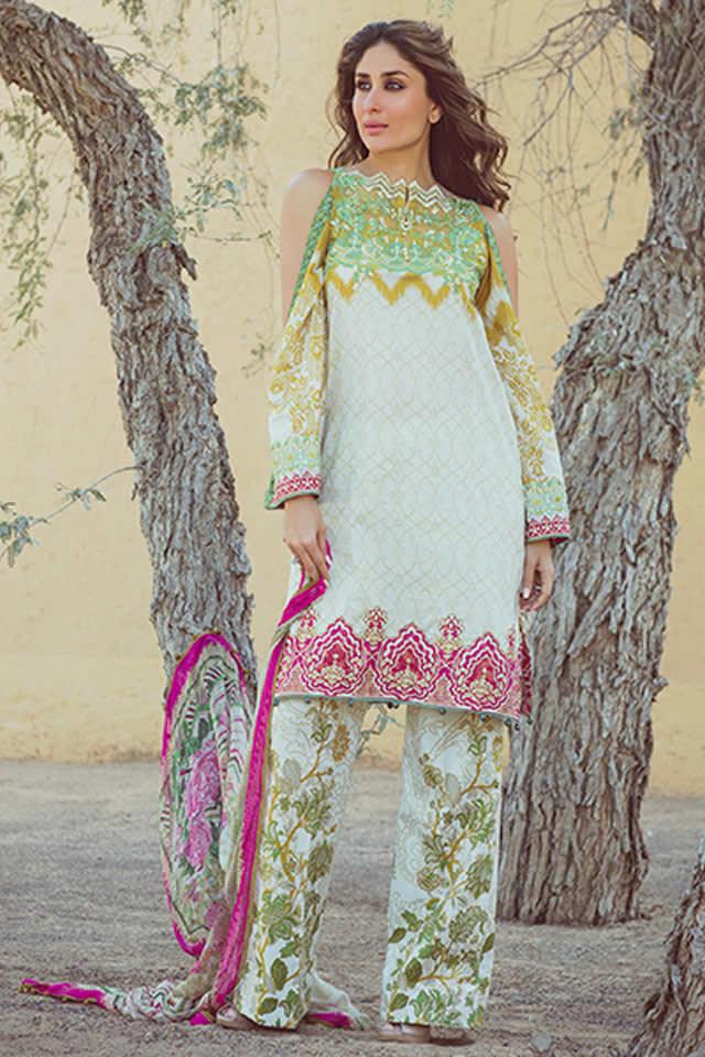Faraz Manan Lawn collection 2016 Pics
