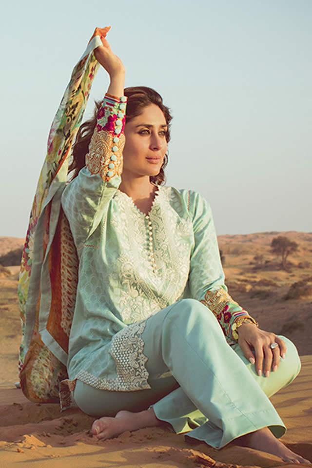 Faraz Manan Lawn Dresses collection 2016 Images