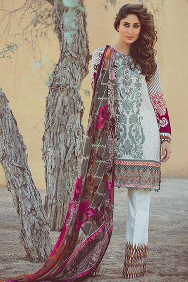 Faraz Manan Lawn Dresses collection 2016