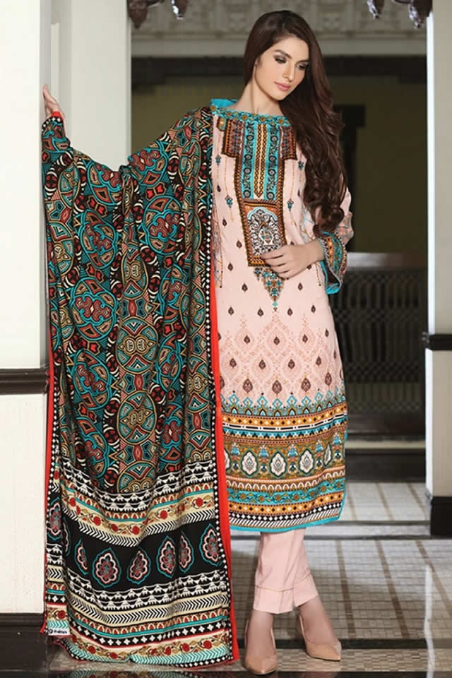 Firdous Winter Dresses collection 2015 Pics