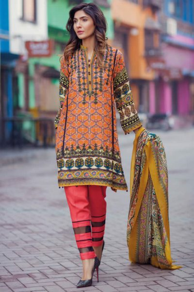 Firdous Winter Dresses collection 2017 Gallery