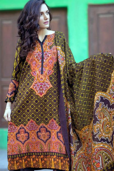 Firdous Winter Dresses collection 2017 Pictures