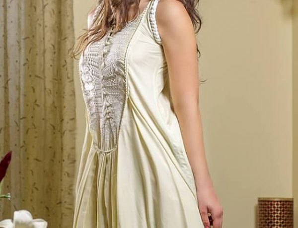 Gul Ahmed Mid-Summer Embroidered Dresses 2015
