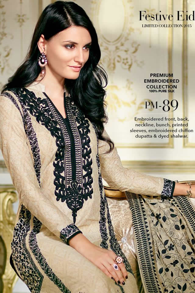0afcd7bae1 2015 Summer Eid Lawn Gul Ahmed Collection Photo Gallery – Fashion ...