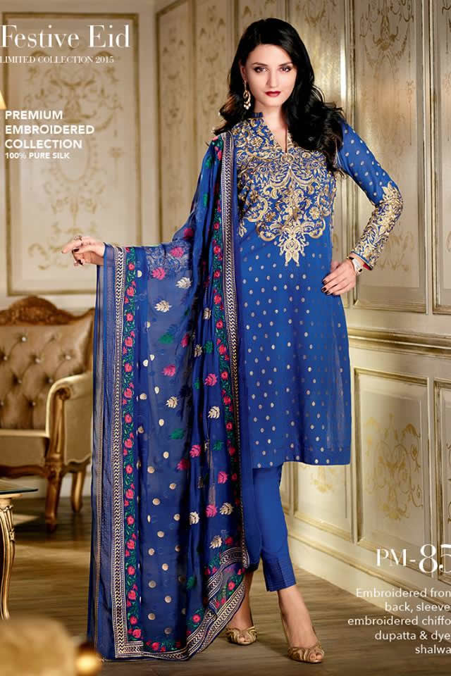 2015 Gul Ahmed Dresses Collection Images